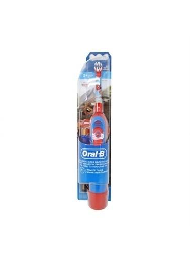 Oral-B Oral-B Pilli Çocuk Soft Diş Fırçası 3 Yaş+ Cars Renkli